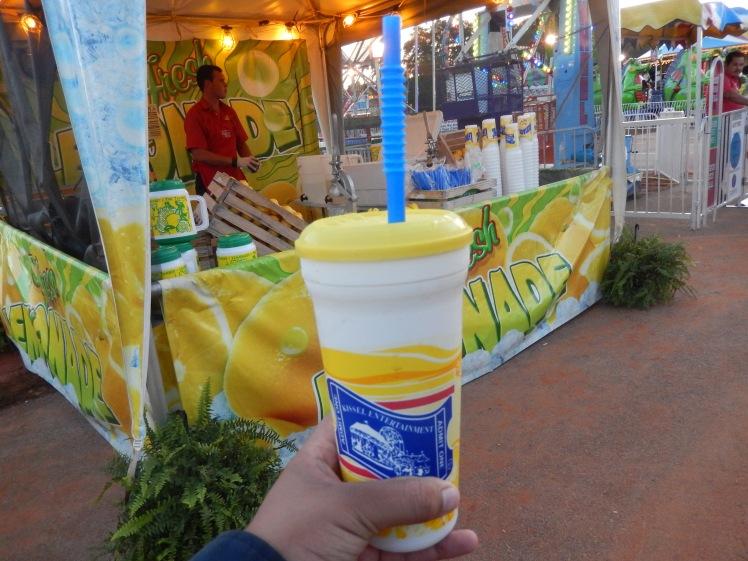 Enjoying some ice cold lemonade! Photo credit: Anthony Johnson